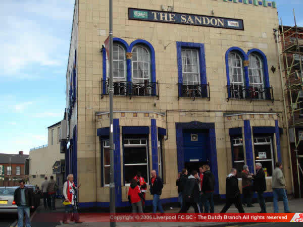 The Sandon outside