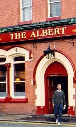 Jurgen Klopp in The Albert for Jager Bombs