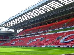 Anfield Skybox from the pitch