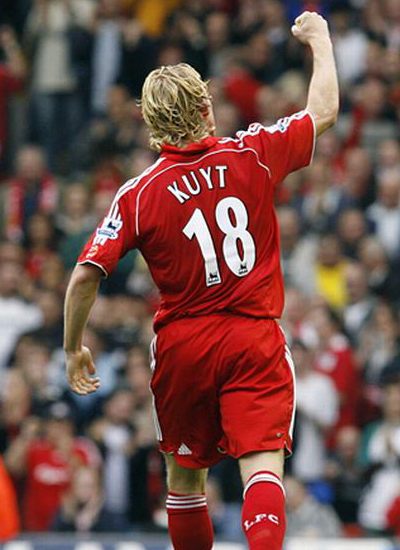 Dirk Kuyt Striker Liverpool Profile