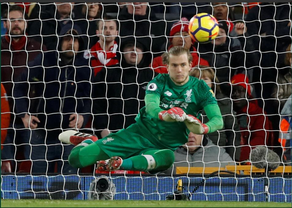 Karius penalty save