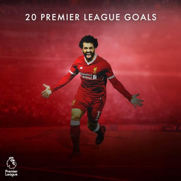 Salah 20 goals